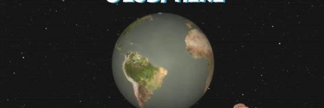 The Earth and its layers.