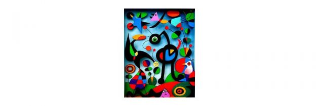 The Garden by Joan Miro