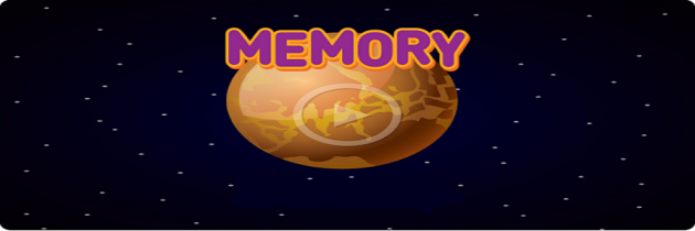 Memory Planet Game