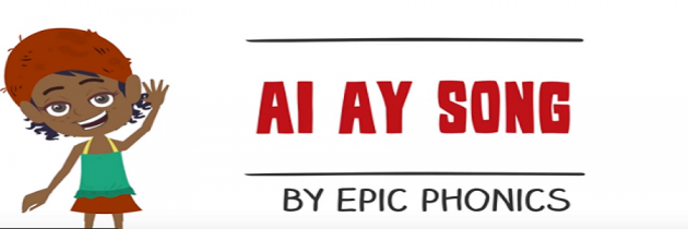 Phonics song 'ai' and 'ay'