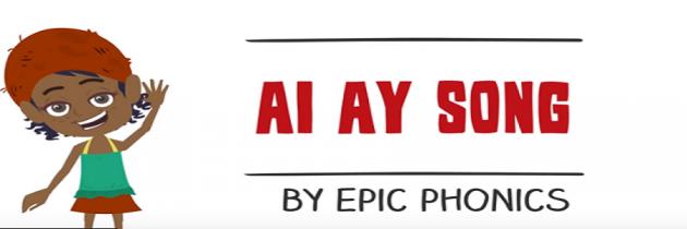 Phonics song 'ai' and 'ay'